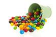 Colorful sugar sweets