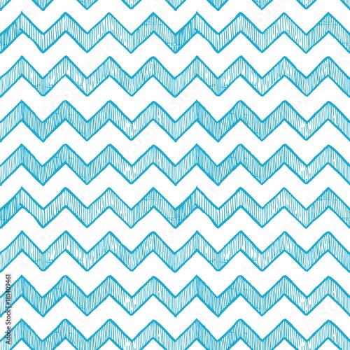 zigzag parallel lines - 181409461
