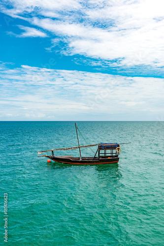 Foto op Aluminium Zanzibar Dhow in Zanzibar, Tanzania.