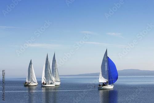 Plexiglas Zeilen sailing
