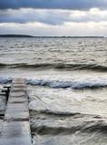 waves of foam spray - 181443622