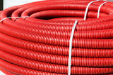 roll of red Flexible Plastic Pipes - 181445819
