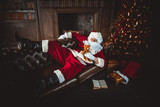 Santa claus portraits and lifestyle - 181448240