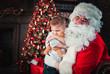 Santa claus portraits and lifestyle