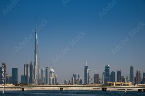Papiers peints Dubai skyline di Dubai