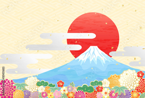 富士山 初日の出