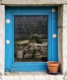 Fenêtre à Cessy, Ain, France