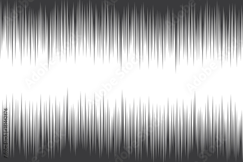 Audio waves abstract graphic design