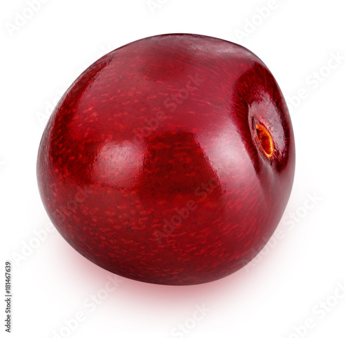 Fotobehang Kersen cherries isolated on white background