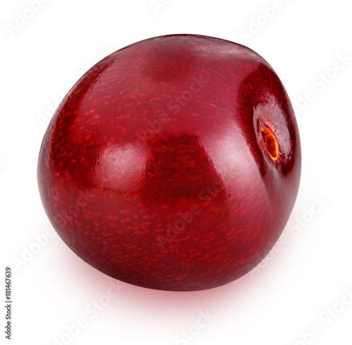 Plexiglas Kersen cherries isolated on white background