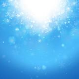 Winter Sky with Snow