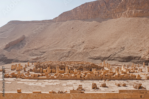 Foto op Canvas Zalm Temple of Queen Hatshepsut