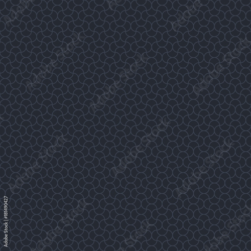 Vector elegant men geometric seamless pattern. Black luxury seamless background - 181490427