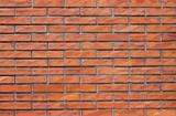 orange brick wall - Background