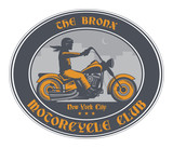 Motorcycle Club label - 181495867
