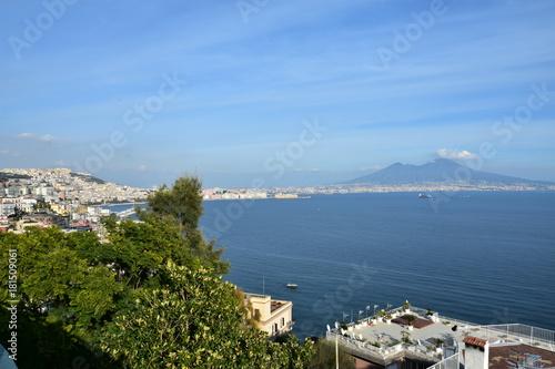 Foto op Aluminium Napels Panoramica Vesuvio