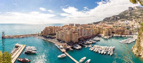 Monaco Fontvieille cityscape - 181509230
