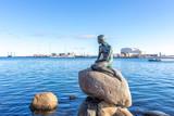 Little mermaid statue Copenhagen - 181509625