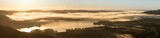 Sunrise Panorama Windermere from Loughrigg Fell, Lake district - 181533461