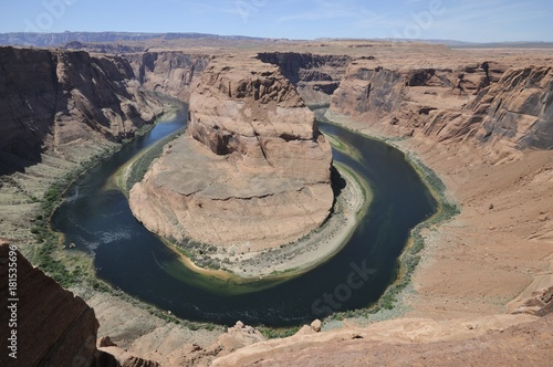 Foto op Canvas Arizona Horseshoe Bend