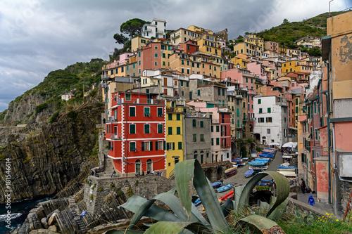 Deurstickers Liguria Rio Maggiore