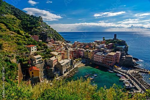 Fotobehang Liguria Vernazza