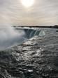 Cascate del Niagara all'alba, Niagara, Ontario, Canada