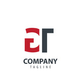 Initial Letter GT Design Logo