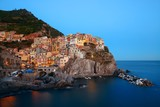Manarola in Cinque Terre night - 181573003