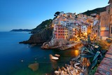 Riomaggiore waterfront night - 181573004