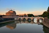 Castel Sant Angelo and River Tiber Rome - 181573035