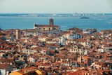 Venice skyline viewed from above - 181573251