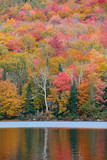 Lake Autumn Foliage - 181573425