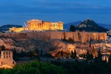 Athens skyline night - 181573464