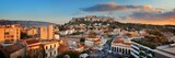Athens skyline rooftop panorama sunset - 181573473