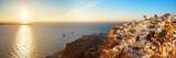 Santorini skyline sunset - 181573603