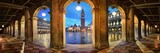 Piazza San Marco hallway night panorama view - 181573631