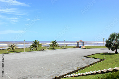 Fotobehang Pistache Kingwood Resort Mukah, Sarawak Malaysia