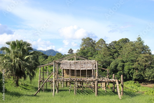 Foto op Canvas Pistache Belaga Sarawak, Malaysia