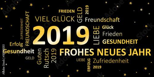 GamesAgeddon - Glückwunschkarte Silvester 2019 - Guten Rutsch und ...