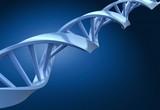 DNA on blue background - 181589079