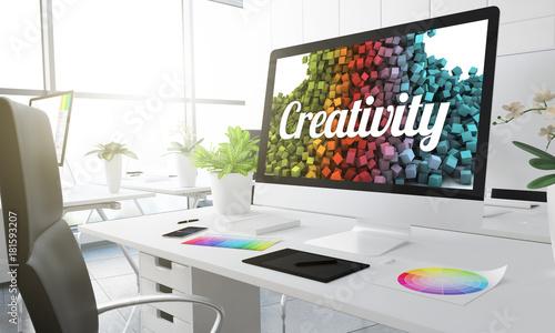 Fototapeta 3d creativity studio