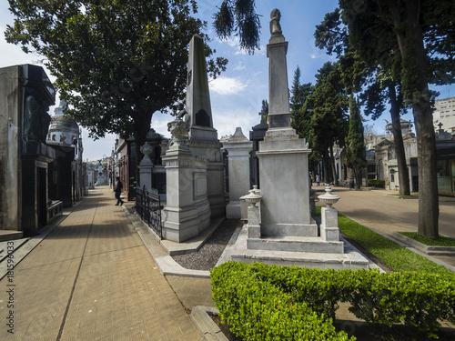 Foto op Canvas Buenos Aires Argentinien, Buenos Aires, Friedhof Cementerio de La Recoleta, Stadtteil Recoleta,