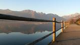 Riflessi nelle acque del lago di Annone ad Oggiono - 181597881