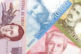 Chilean money, a background - 181601076