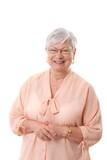 Portrait of happy grandmother - 181603046