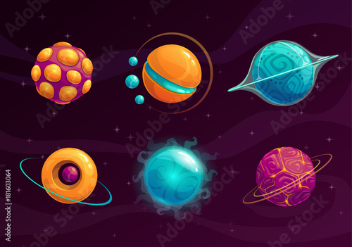 cartoon-fantasy-planets-set