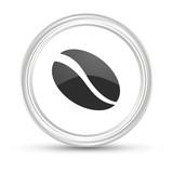 Weißer Button - Kaffebohne - 181619235