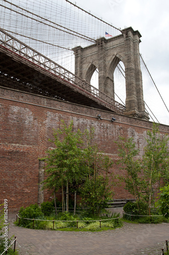 Foto op Aluminium Brooklyn Bridge Brooklyn Bridge at DUMBO