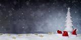 Weihnachtlicher Hintergrund  - 181633406